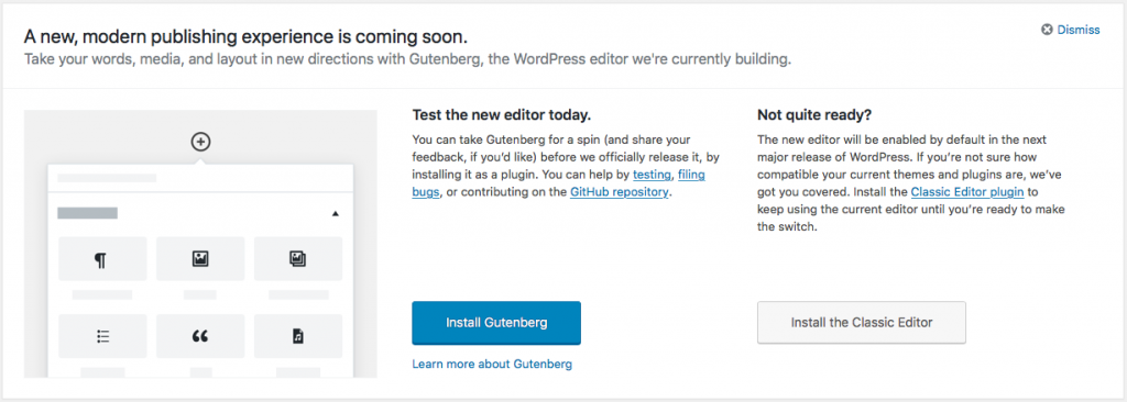 Ready for Gutenberg? Gutenberg Is Coming